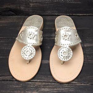 Jack Rodgers Hamptons Sandals Size 8